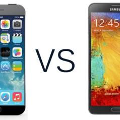 Samsung Galaxy Note 4 y iPhone 6 Plus: ¿cuál es el mejor?